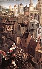Hans Memling Scenes from the Passion of Christ [detail 1, left side] painting